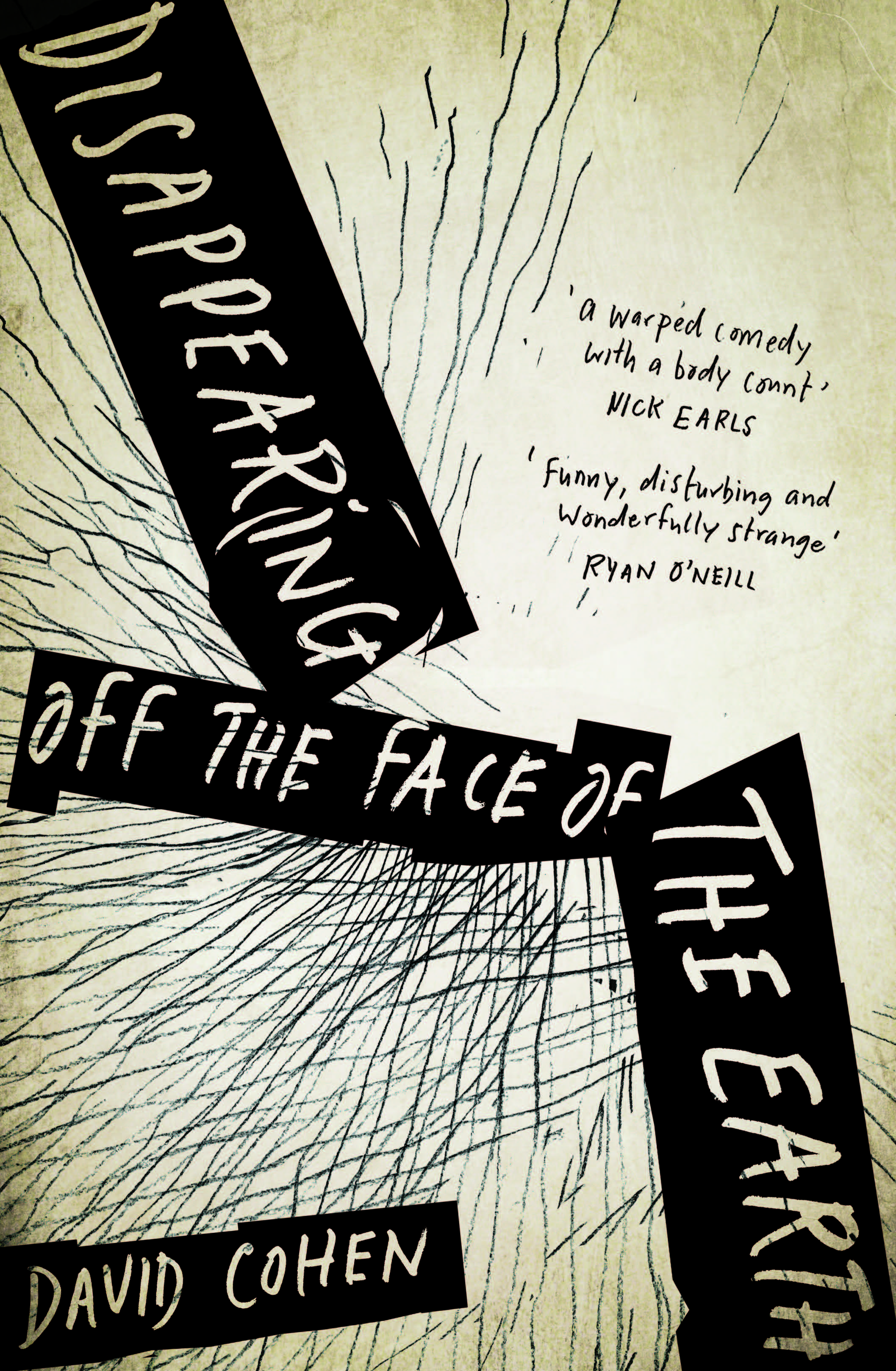 Launch of Disappearing off the Face of the Earth