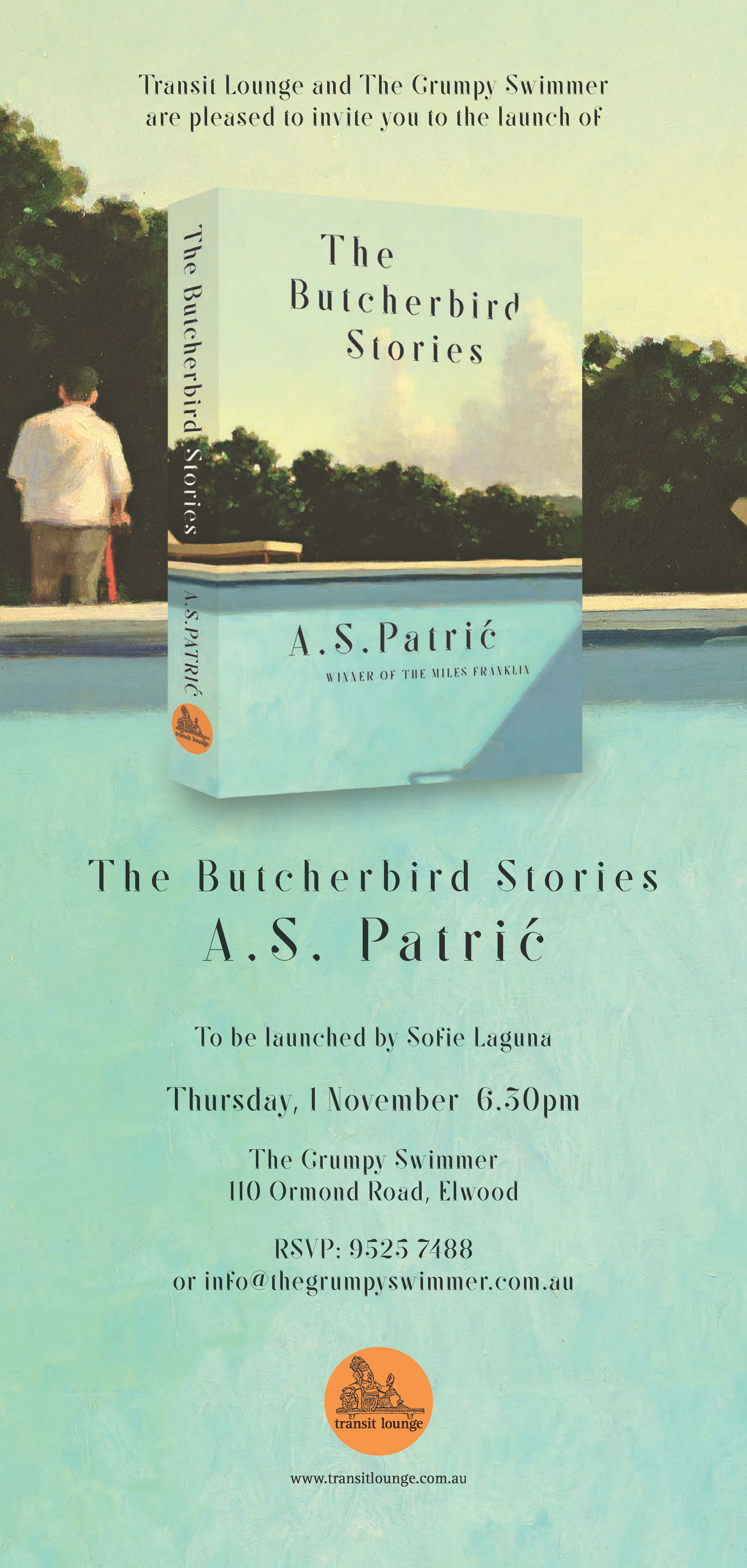 Launch of The Butcherbird Stories by A.S.Patric