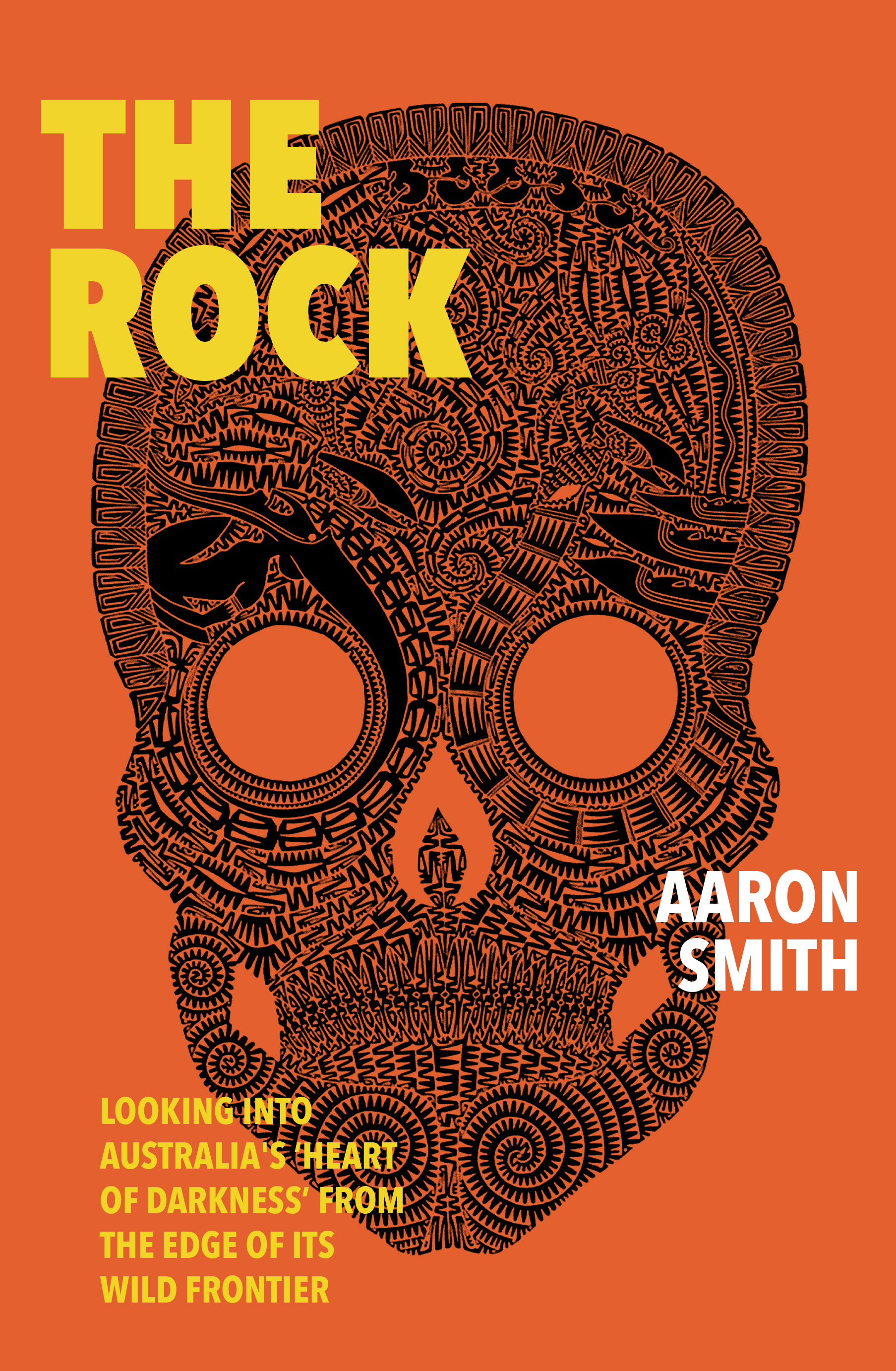 Aaron Smith , author of The Rock in conversation with Stefan Armbruster