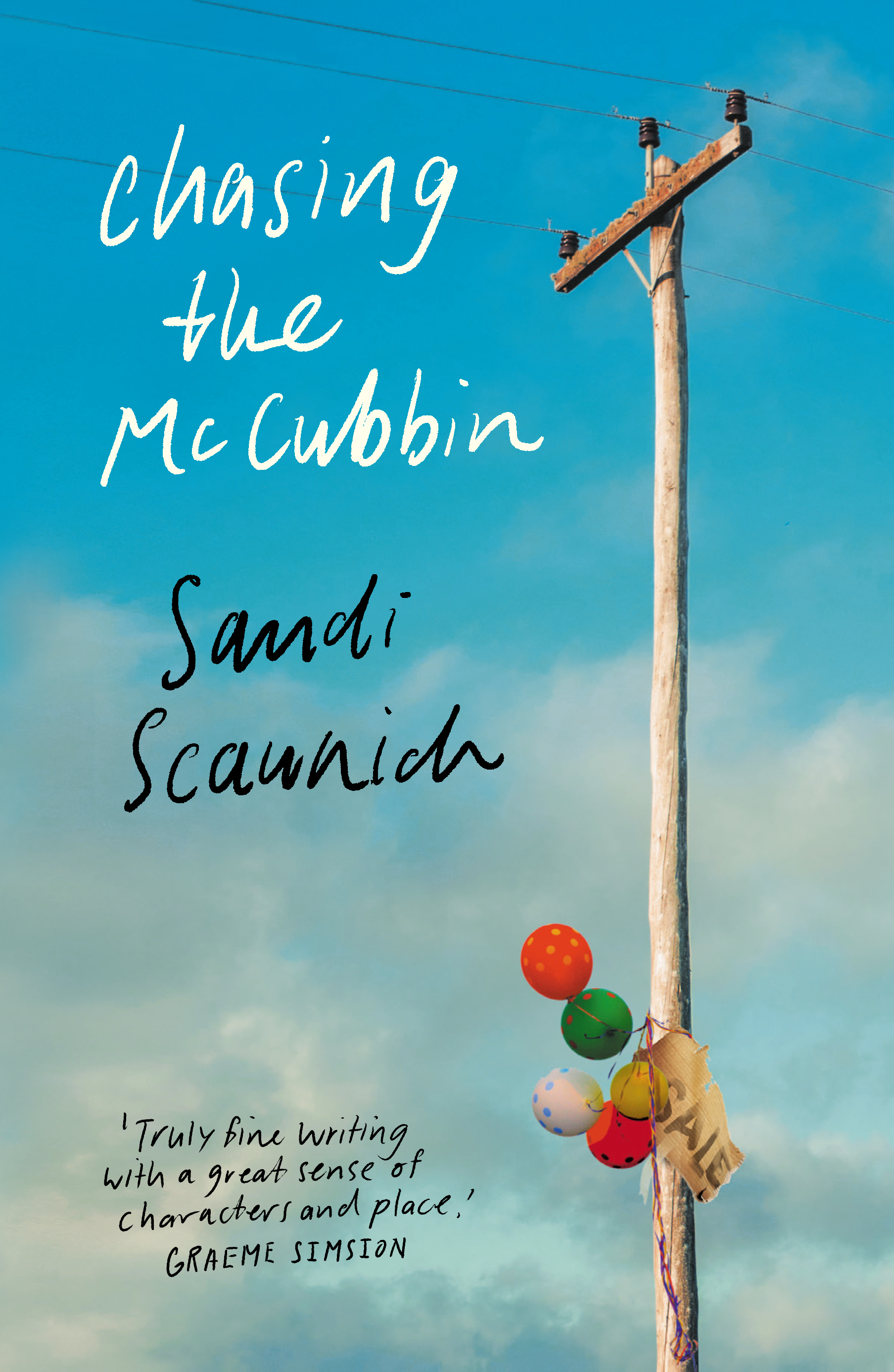 Launch of Chasing the McCubbin by Sandi Scaunich